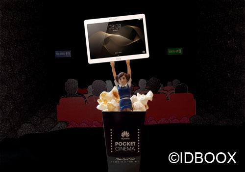 Huawei MediaPad m2 comme au cinéma