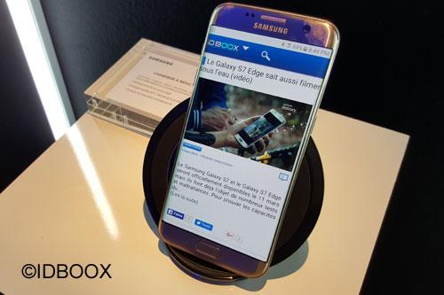 Samsung galaxy S7 ventes dépassent prévisions