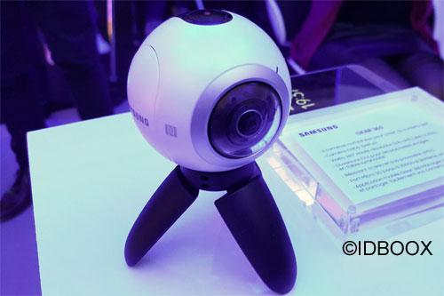 Samsung Gear 360 prise en main