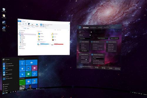 Réalité virtuelle Steam Virtual Desktop
