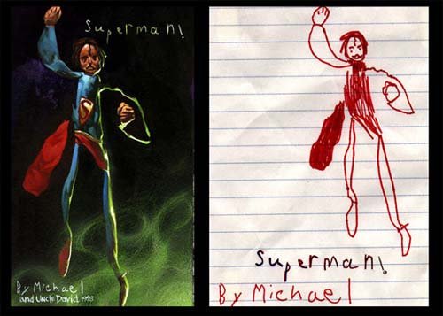 dessins d'enfants réalistes