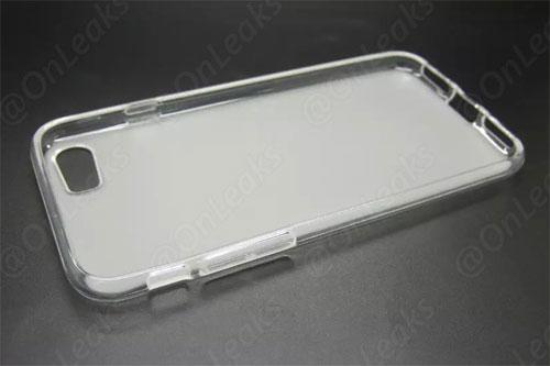 iPhone 7 coque révèle des détails