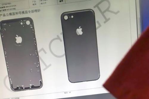 iPhone 7 photo coque révèle desiign
