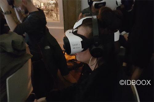 Samsung un casque réalité virtuelle standalone