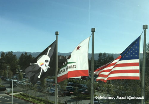 Apple a 40 ans et sort son drapeau pirate