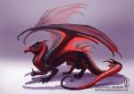 Super-héros transformés en dragons