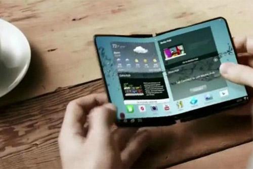 Samsung deux smartphonex pliables en 2017