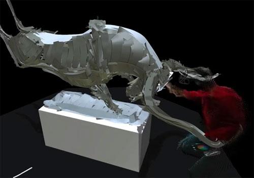 Google artistes créent des oeuvres en réalité virtuelle