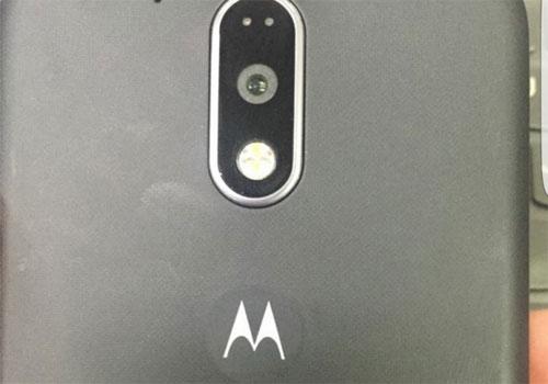Moto G4 en photo