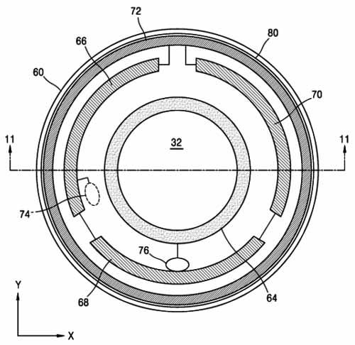 Samsung des lentilles de contact connectées