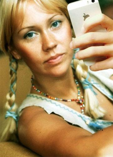 Selfie-Agnetha-ABBA