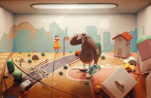 Animation et chanson Israélienne Ma'agalim
