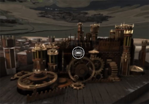 Games of Thrones vidéo 360° Facebook