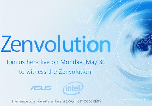 Asus ZenFone 3 le 30 Mai