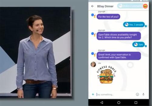 Google I/O 2016 Google Assistant