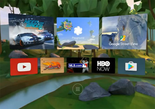 Daydream plate-forme réalité virtuelle