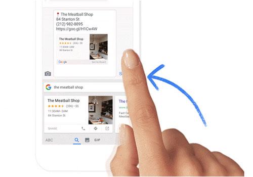 Google Gboard clavier parfait sur iOS