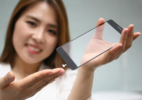 LG scanner empreintes sous écran