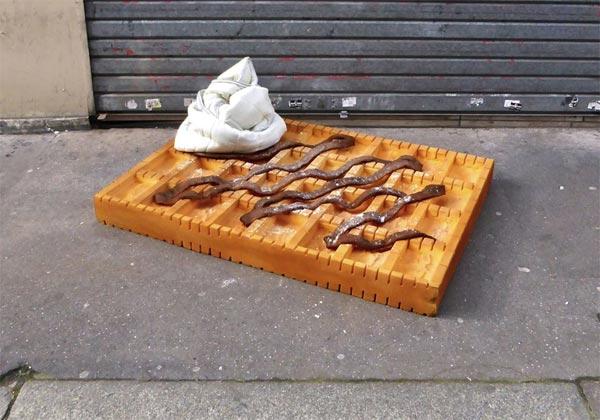 Sculpture matelas mousse Lor-K