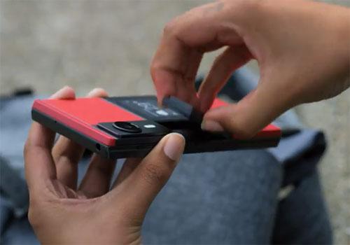 Projet ARA smartphone modulaire Google