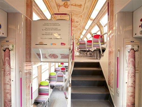 SNCF RER C transformé en Château de Versailles