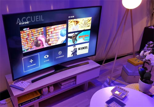 Samsung Canal+ sur SmartTV sans décodeur