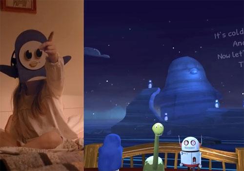 Gear VR :livre enfants en réalité virtuelle