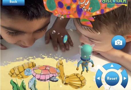 coloriage ar virtual reality