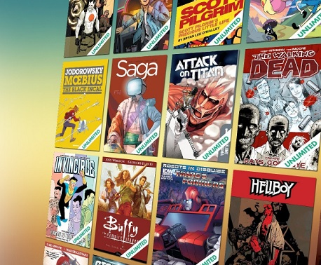 comixology unlimited ebook comics manga