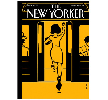 the new yorker presse realite augmentee