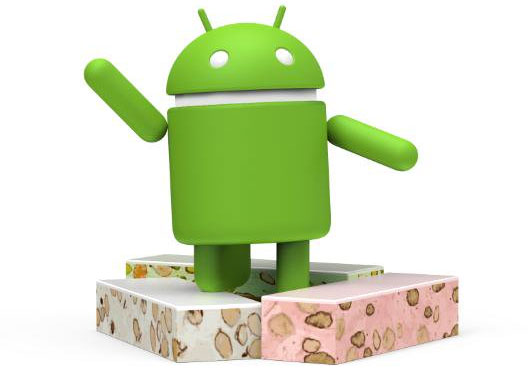 Android Nougat double sa part de marché