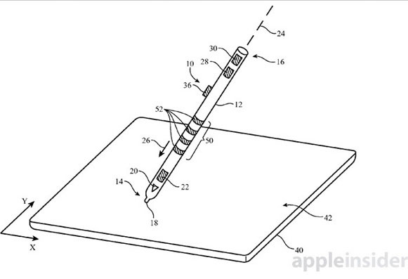 Apple Pencil Brevet