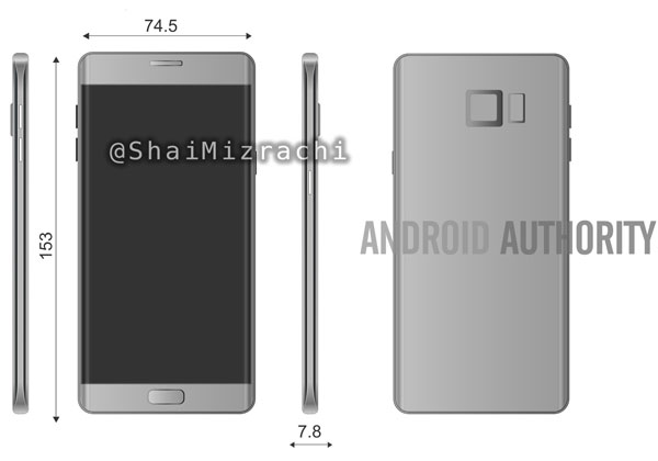 Galaxy Note 7 dévoilé le 8 août