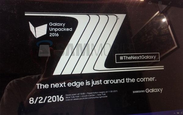 Galaxy Note 7 toutes ses caractéristiques