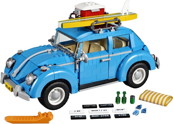 LEGO pack WV Coccinelle
