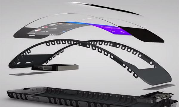 Lenovo smartphone écran pliable