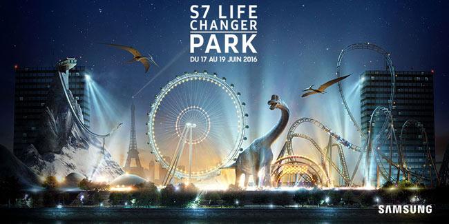 Samsung Concours S7 Changer PARK - réalité virtuelle