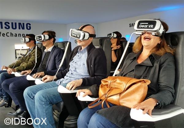 Samsung Gear VR contrôlé avec une Gear S2