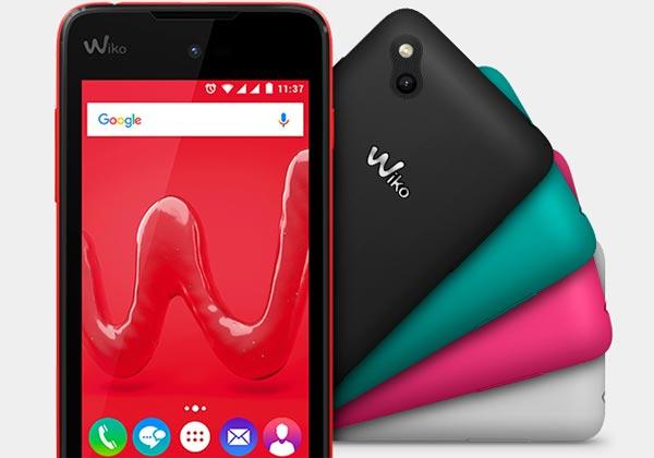 Wiko nouveaux smartphones entrée de gamme