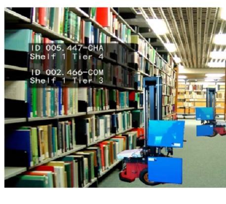 robot bibliotheque