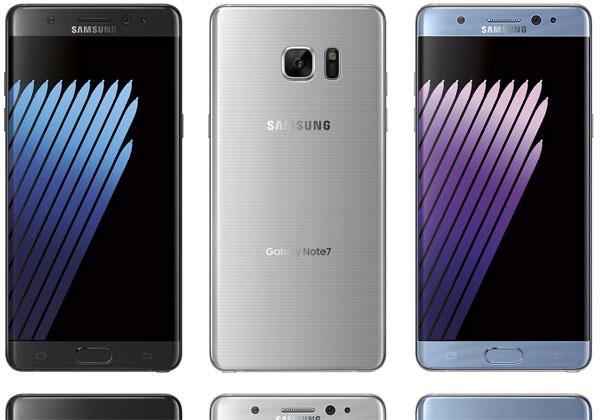 Samsung Galaxy Note 7 nouveaux rendus