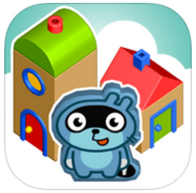 Pango Build City appli iPad enfants