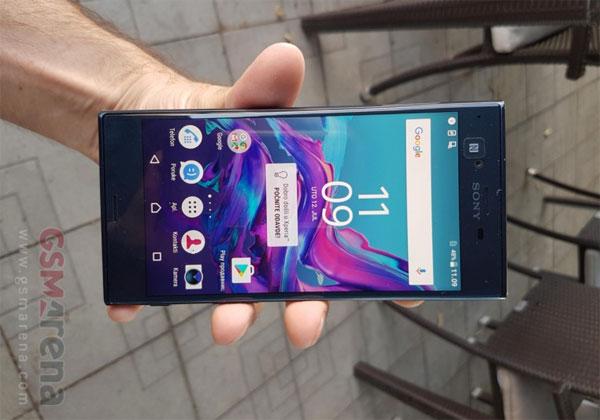 Sony nouveau smartphone Xperia en ballade sur le net