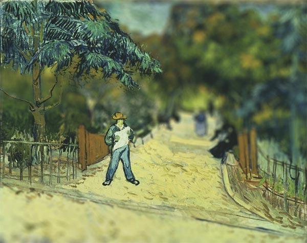 Tableaux Van Gogh perspective