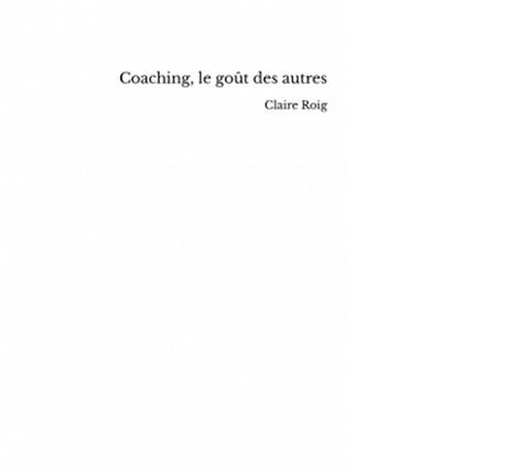 claire roig coaching le gout des autres