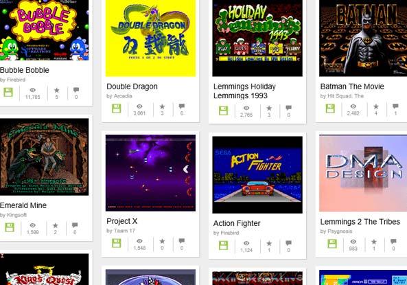Amiga 2000 jeux vidéo gratuits