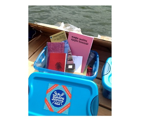 floating library bibliotheque