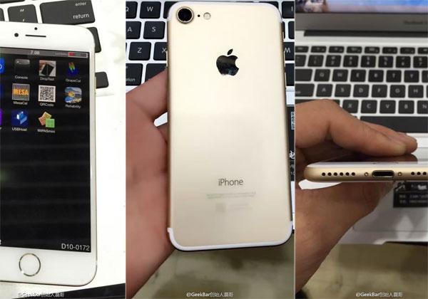 iPhone 7 et iPhone 7 Plus 2 vidéos et 1 proto fonctionnel