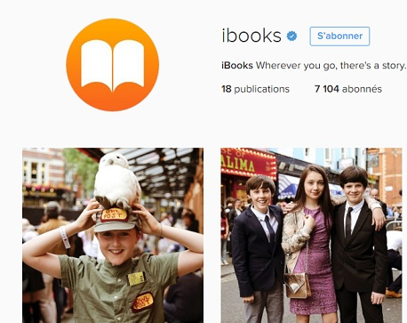 ebooks apple ouvre un compte instagram pour harry potter. Black Bedroom Furniture Sets. Home Design Ideas