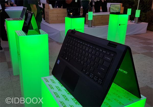 Acer 40 ans prise en main des derniers PC et tablettes